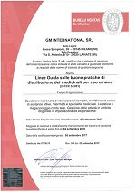 Certificazione GDP GM International